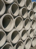Concrete Pipe Background Royalty Free Stock Photo