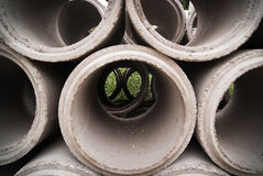 Concrete pipe for building Royalty Free Stock Photo