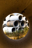 Concrete pipe Royalty Free Stock Photo
