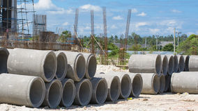 Concrete pipe Royalty Free Stock Photography