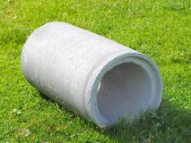 Concrete Pipe royalty free stock images