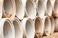 Concrete pipes Royalty Free Stock Photo
