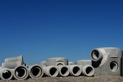 Concrete pipes Stock Image