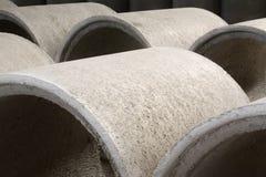 Concrete pipes Royalty Free Stock Photo