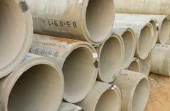 Concrete pipes Stock Photos