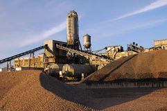 Concrete Plant Royalty Free Stock Image