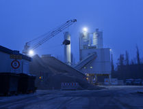 concrete plant Royalty Free Stock Photo