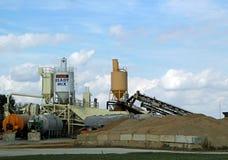Concrete Plant in Effingham, Illinois Royalty Free Stock Photo