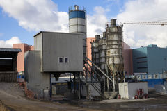 Concrete plant Stock Images