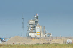 Pile of sands from cement factory Royalty Free Stock Photo