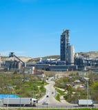 Concrete plant. Russia Royalty Free Stock Photo