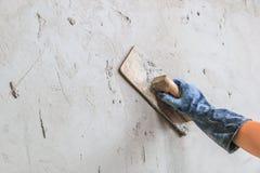 Concrete plasterer Royalty Free Stock Photos