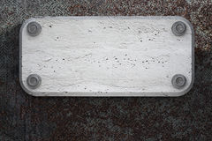 Concrete plate Stock Photography