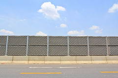 Concrete plate on expressway Stock Photo