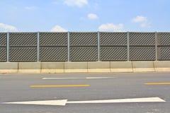 Concrete plate on expressway Stock Photos