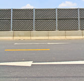 Concrete plate on expressway Stock Photography