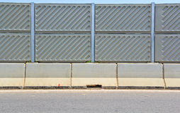 Concrete plate on expressway Royalty Free Stock Photos