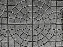 Concrete plate flooring pattern Royalty Free Stock Image