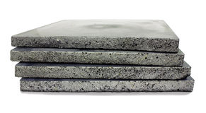 Concrete plates Stock Images