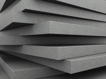 Concrete plates background Stock Image