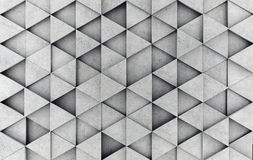 Concrete prism as a background. 3D rendering Royalty Free Stock Images