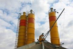 Concrete production Stock Images