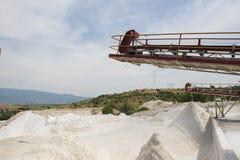 Concrete production Stock Photos