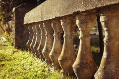 Concrete railings Royalty Free Stock Photo
