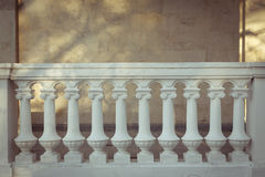 Concrete railings Royalty Free Stock Images