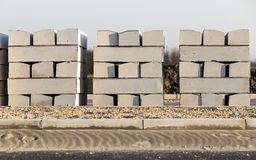 Concrete randen Stock Foto's