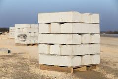 Concrete randen Royalty-vrije Stock Foto's
