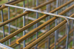 Concrete rebar Royalty Free Stock Photo