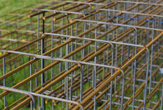Concrete rebar Royalty Free Stock Photos