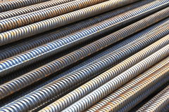 Concrete reinforcement rods Stock Photography