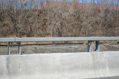 Concrete Road barrier Royalty Free Stock Images