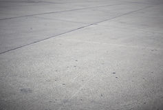 Concrete road. Empty concrete road with dark edges Royalty Free Stock Photo