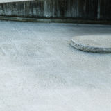 Concrete on the road Stock Photography