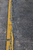 Concrete road surface. Stock Photography