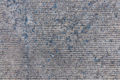 Concrete road texture Royalty Free Stock Image