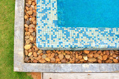 Concrete and rock pool Royalty Free Stock Photos