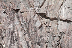 Concrete rock wall background Royalty Free Stock Images