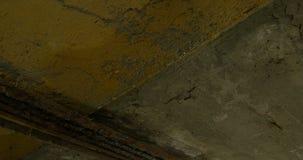 Concrete Roestdruppel stock footage