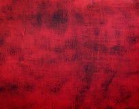 Concrete rood-zwarte achtergrond met barsten royalty-vrije stock fotografie