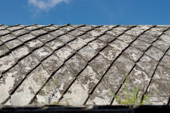 Concrete roof at taman sari water castle - the royal garden of sultanate of jogjakarta Royalty Free Stock Photos