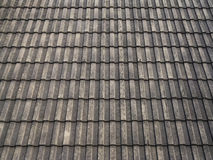 Concrete roof tile Royalty Free Stock Image