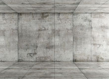 Concrete room Royalty Free Stock Photo
