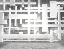 Concrete room Stock Image