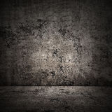 Concrete room in grunge style, urban background Stock Photos