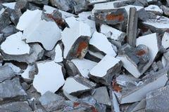 Concrete rubble Stock Image