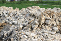 Concrete rubble Royalty Free Stock Images